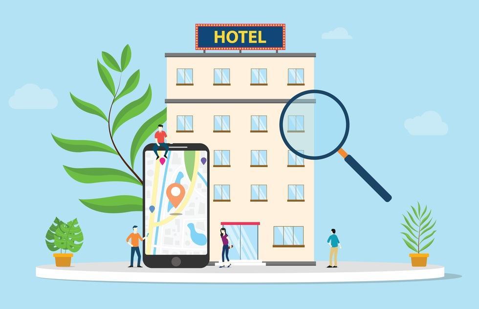 تبلیغات گوگل برای هتل